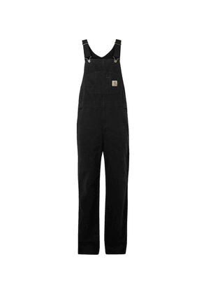 Carhartt WIP - Cotton-canvas Dungarees - Black