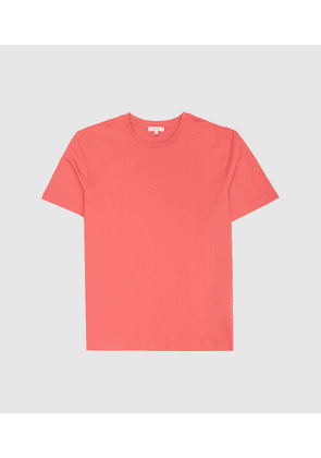 Reiss Bless - Crew Neck T-shirt in Rose, Mens, Size XS