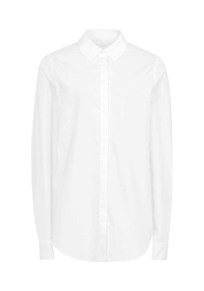 Reiss Dee - Long-sleeved Shirt in Off White, Womens, Size 4