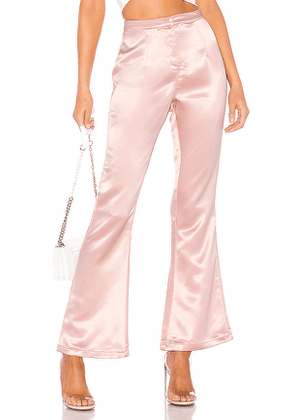 superdown Gene High Waisted Pant in Pink. Size M.