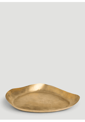 Tom Dixon Bash Tray in Gold size One Size