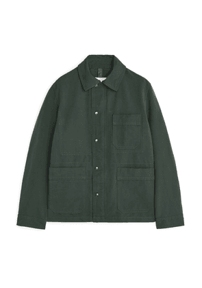 High-Density Workwear Jacket - Green