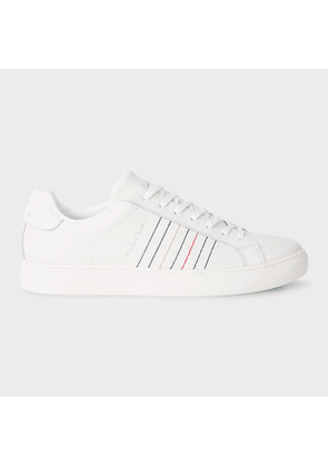 Men's White 'Rex' Leather Trainers