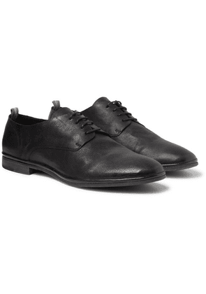 Officine Creative - California Leather Oxford Shoes - Black