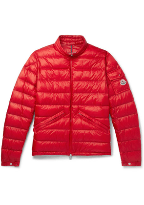 Moncler - Quilted Shell Down Jacket - Red
