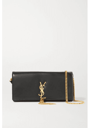 SAINT LAURENT - Kate Leather Shoulder Bag - Black