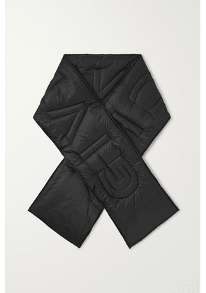 Givenchy - Quilted Padded Shell Scarf - Black