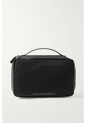 Anya Hindmarch - Baby Emergency Kit Leather-trimmed Shell Pouch - Black