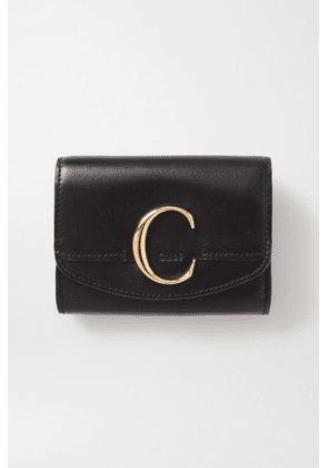 Chloé - Chloé C Leather Cardholder - Black