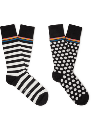Paul Smith - Two-pack Cotton-blend Socks - Multi