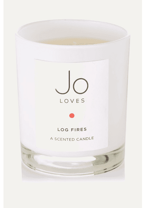 Jo Loves - Log Fires Scented Candle, 185g - one size
