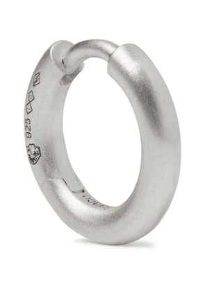 Le Gramme - Brushed Sterling Silver Earring - Silver