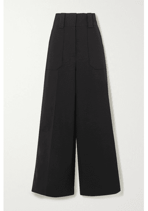 Stella McCartney - Wool-blend Wide-leg Pants - Black