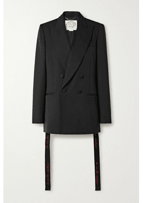 Stella McCartney - We Are The Weather Oversized Wool Blazer - Black