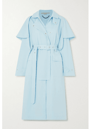 Stella McCartney - Cotton-blend Twill Trench Coat - Blue