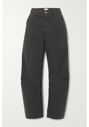 Nili Lotan - Emerson Cotton-blend Pants - Black