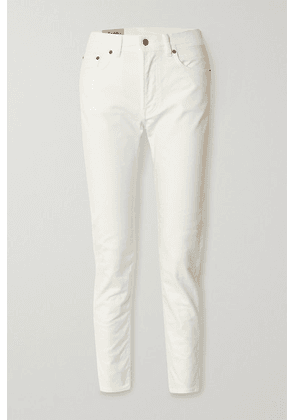 Acne Studios - Melk High-rise Slim-leg Jeans - White