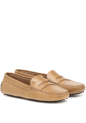 Gommino leather loafers