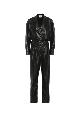 Exclusive to Mytheresa – Rocha faux leather jumpsuit