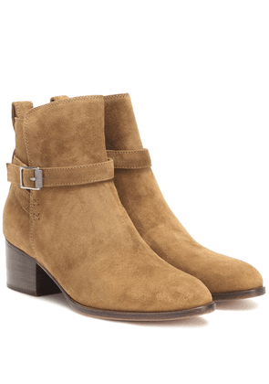 Walker suede ankle boots
