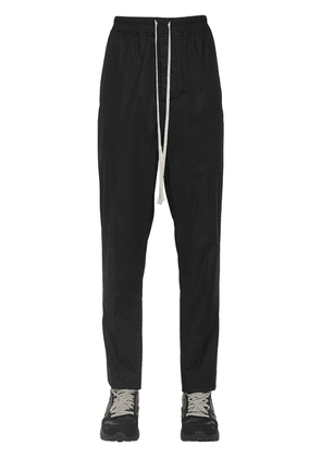 Relaxed Cotton Poplin Pants