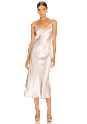 SABLYN Taylor Slip Dress in Powder - Neutral,Pink. Size S (also in ).