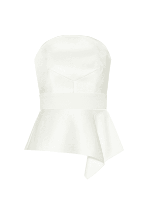 Penn satin bridal top