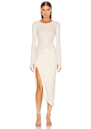 ALIX NYC Bristol Dress in Ivory - White. Size S (also in ).
