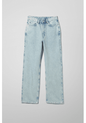 Rowe Extra High Straight Jeans - Blue