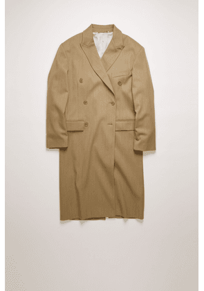 Acne Studios FN-WN-OUTW000271 Beige  Double-breasted overcoat