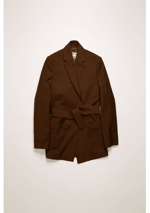 Acne Studios FN-WN-SUIT000110 Chocolate brown  Double-breasted suit jacket
