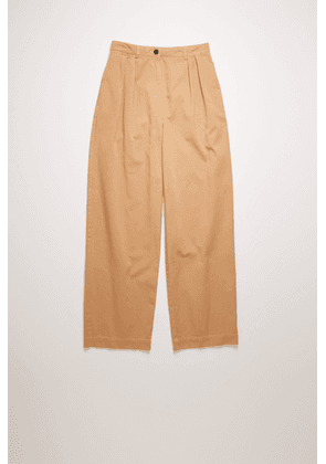 Acne Studios FN-WN-TROU000324 Old pink  Pleated twill trousers