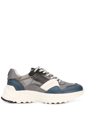Coach colour blocked low top sneakers - Grey