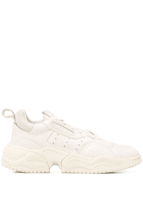 adidas chunky sole sneakers - White