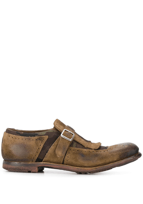 Church's fringed monk shoes - Brown