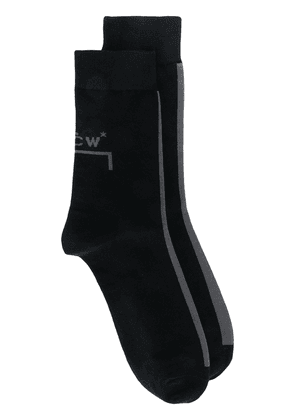 A-Cold-Wall* knitted logo socks - Black