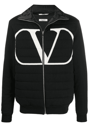 Valentino padded VLOGO jacket - Black