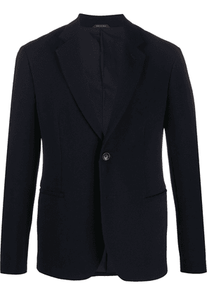 Giorgio Armani single breasted blazer - Blue