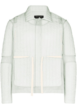 Craig Green Quilted panel jacket - Blue