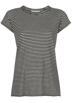 Nili Lotan striped print T-shirt - Black