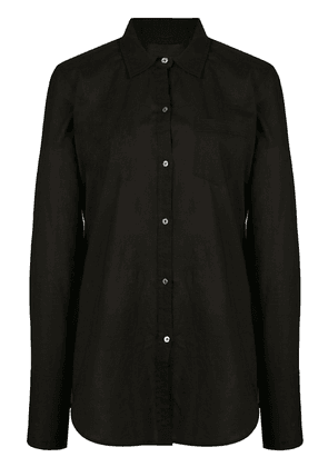 Nili Lotan chest pocket shirt - Black