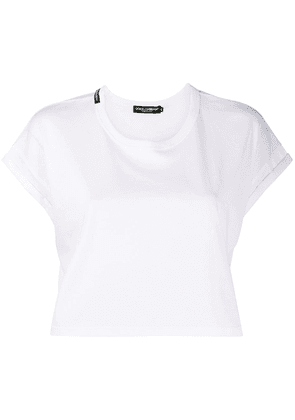 Dolce & Gabbana cropped T-shirt - White
