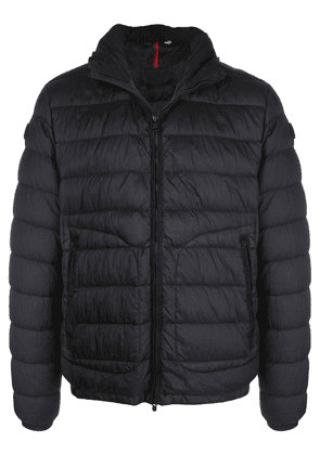 Moncler front zipped padded jacket - Blue