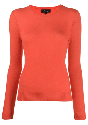 Theory fitted jumper - ORANGE