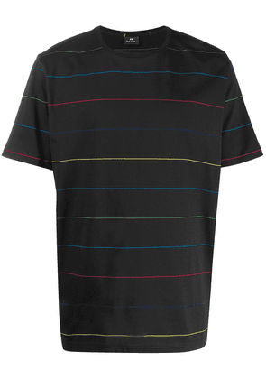 PS Paul Smith crew neck striped T-shirt - Black
