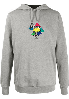 PS Paul Smith graphic print hoodie - Grey