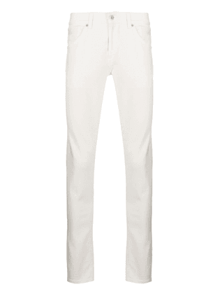 Dondup George mid-rise skinny jeans - White