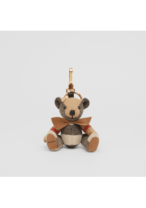 Burberry Thomas Bear Charm with Bow Tie, Beige