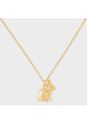 Alex Monroe + Paul Smith - 18ct Gold Small 'Bunny' Chain Necklace