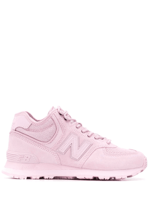 New Balance Damskie Buty mid-top sneakers - PINK